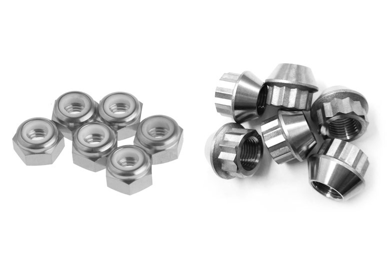 12-Point Stainless Steel Nuts