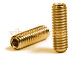 Phosphorous Bronze Metric Set Screws