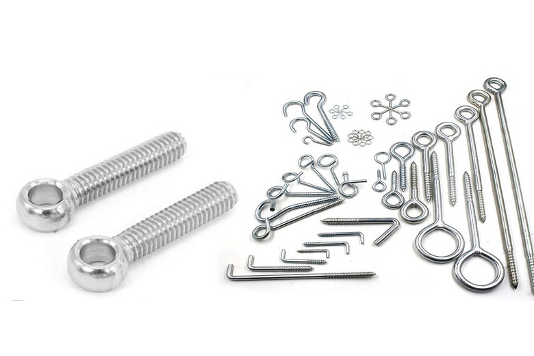 Stainless Steel Eye Bolt With Shoulder Ring Ss Eye Bolt Screw Anchor