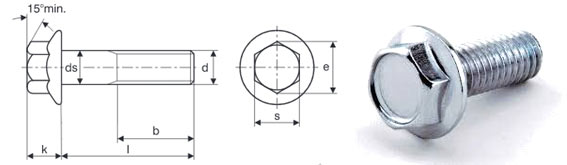 12 Point Flange Bolt Dimensions