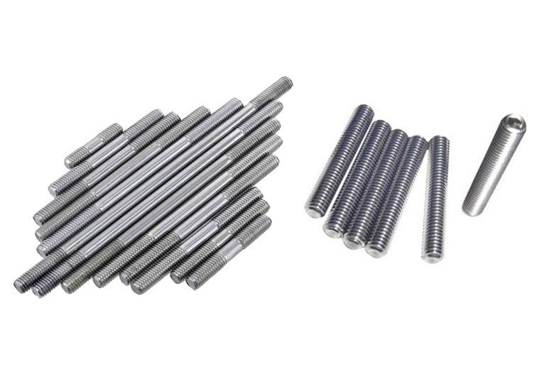 Stainless steel m2.5 x 200mm threaded rod threaded all thread
